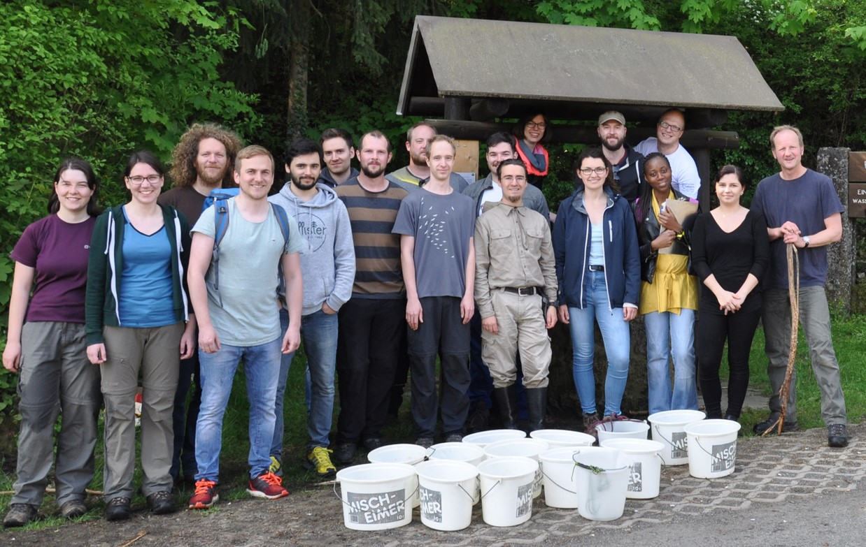"Towards entry ""Tracer test with international Geo Master Course –  A full success"""