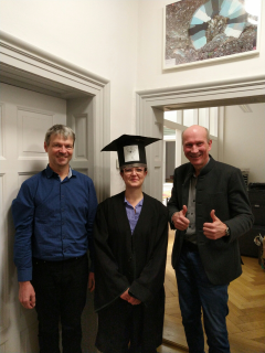 "Towards entry ""Vanessa Roden successfully defended her doctoral thesis"""